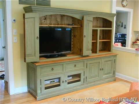 Beautiful Custom Entertainment Center Cabinets