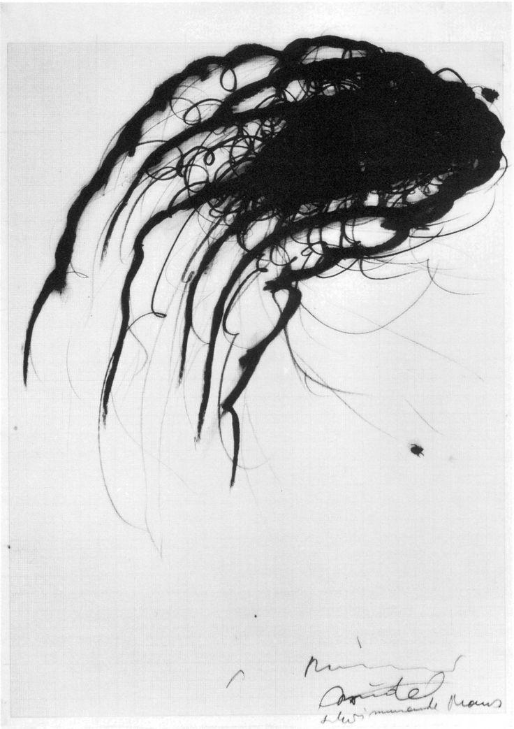 günter brus drawings   Günter Brus, Hermann Nitsch, Arnulf Rainer Austrian Drawings
