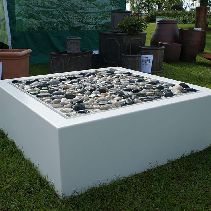 Aluminium watertafels (verkrijgbaar in verschillende maten en met meerdere fonteinen)
