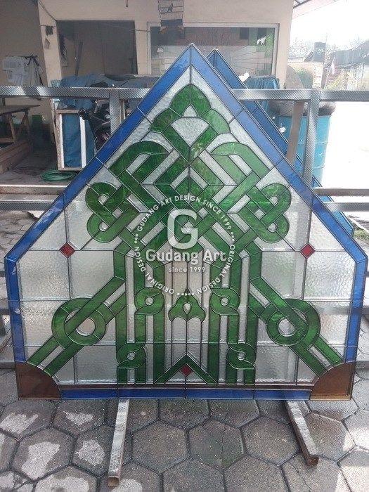 Kaca Patri Religius Untuk Masjid Dan Gereja Kaca Patri Pinterest