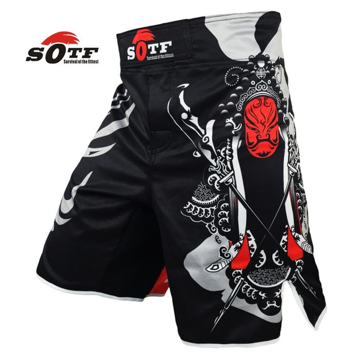 [Visit to Buy] SOTF mma shorts boxing trunks muay thai tiger muay thai kickboxing shorts sanda yokkao brock lesnar fight boxing short sanda #Advertisement