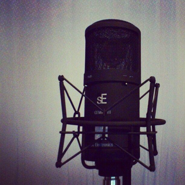 Our new baby. SE Electronics Gemeni III. #studio #seelectronics #recording