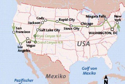 Quer durch die USA von San Francisco nach New York Rundreise   usareisen.de - Die Amerika Profis