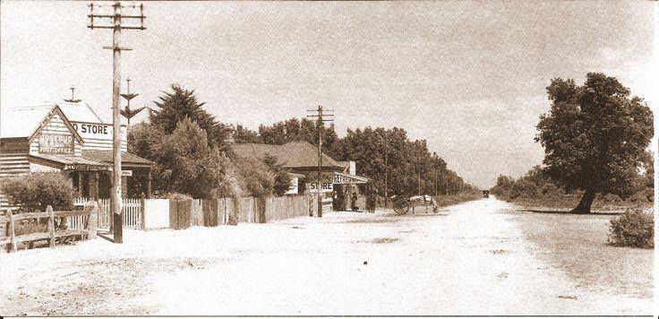 Rosebud Post Office, Rosebud, Mornington Peninsula, Victoria, Australia.