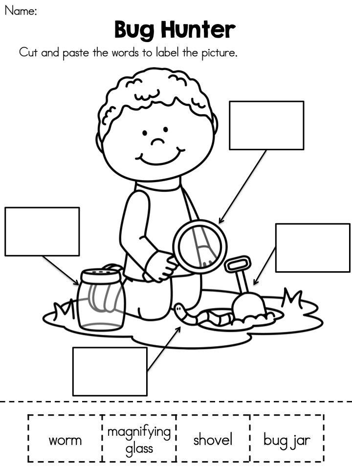 Spring Literacy Activities (Kindergarten) Distance