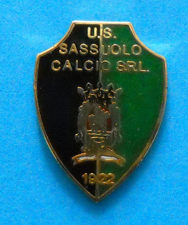 DISTINTIVO SPILLA PIN - U.S. SASSUOLO CALCIO SRL - cod. n. 115