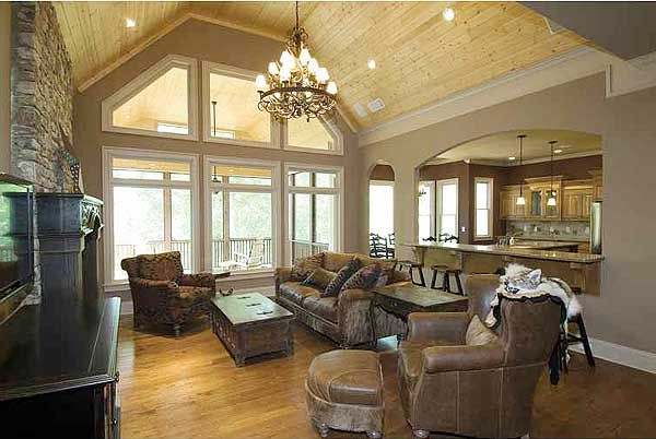 Split Bedroom Craftsman Home Plan - 15667GE | Craftsman, Mountain, Northwest, Luxury, Photo Gallery, Premium Collection, 1st Floor Master Suite, Butler Walk-in Pantry, CAD Available, MBR Sitting Area, Media-Game-Home Theater, PDF, Split Bedrooms, Sloping Lot | Architectural Designs