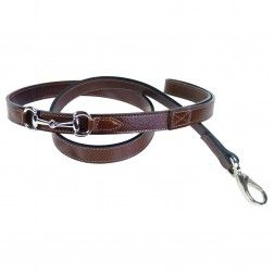 Belmont in Rich Brown & Nickel - Belmont - Dog Collars & Leads | Hartman & Rose