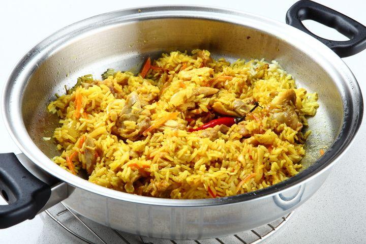 Курица карри с рисом и овощами - пошаговый рецепт с фото - как приготовить - ингредиенты, состав, время приготовления - Леди Mail.Ru