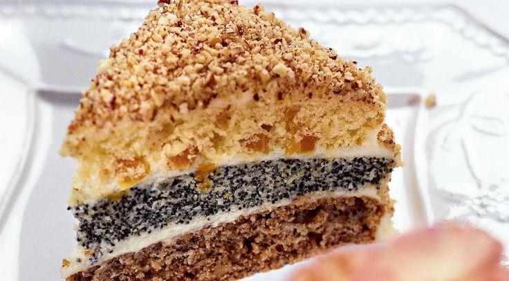 Торт трехслойный