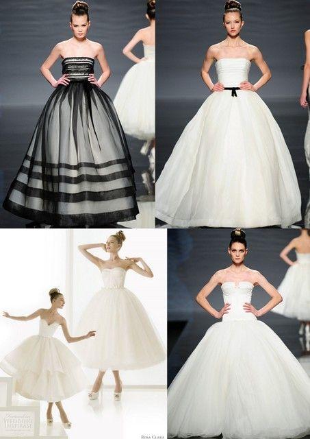 Black Swan Inspired Wedding Dresses