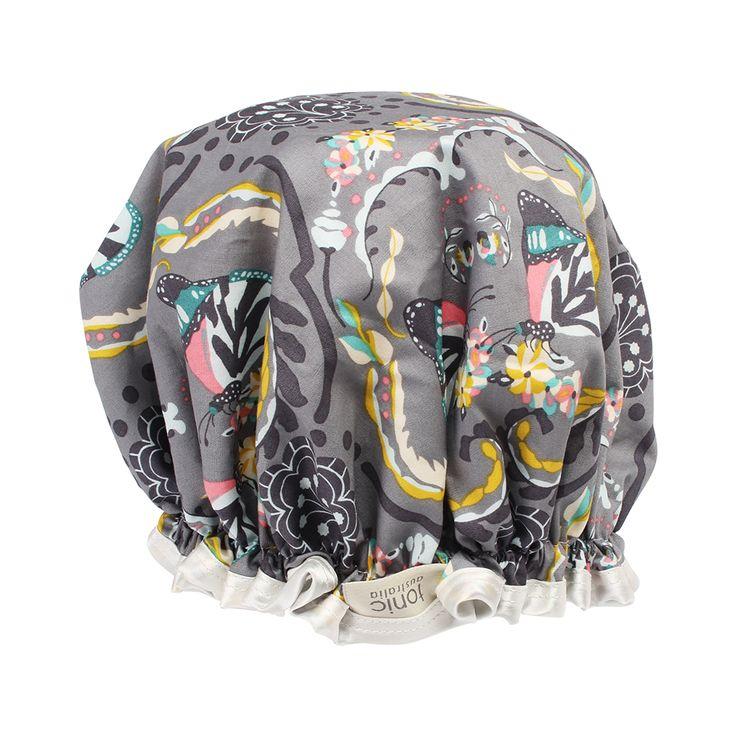 Butterfly Showercap  #showercap #fabric #print #design