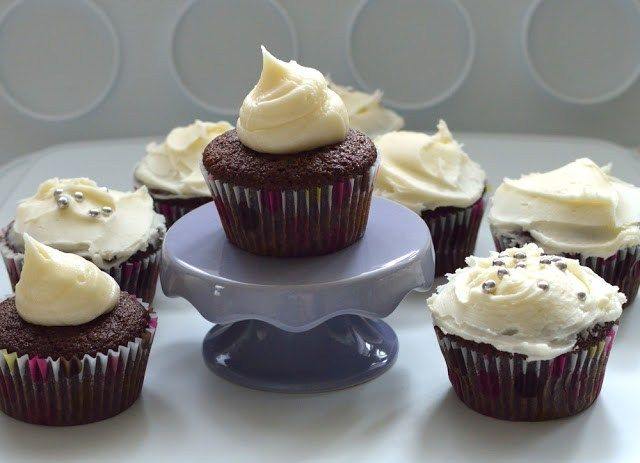 Crown Royal whisky cupcakes (aka Boozy Cupcakes)