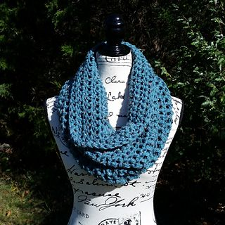 This pattern was inspired by my need to crochet large quantities of slouchy, squishy cowls for fall craft shows and holiday gifts! I am obsessed with Outlander, both the books and the show, and I love the slouchy, chunky cowl that Claire wears in the show. This is a crochet, super easy, fast, not as bulky version of that cowl. It lays perfectly, drapes beautifully, and is a cinch for both avid crocheters and newcomers to the art!