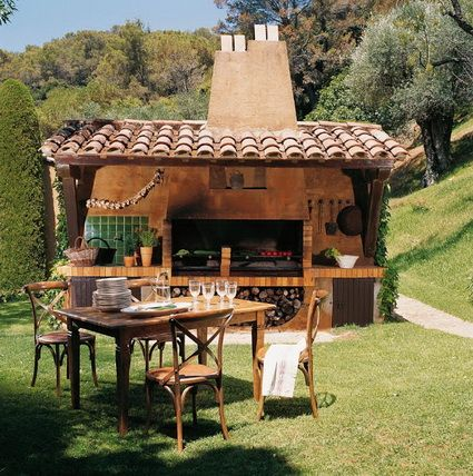 116 best asadores para jardín images on Pinterest | Backyard ideas ...