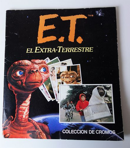 Vintage E.T. sticker album / Album de cromos E.T. | by misstaito