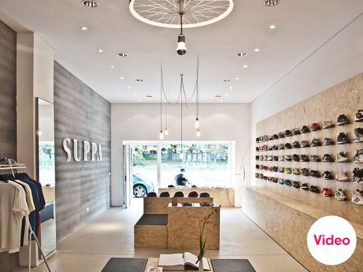 Suppa shoe store by DLF PRODUCTDESIGN, Stuttgart store design