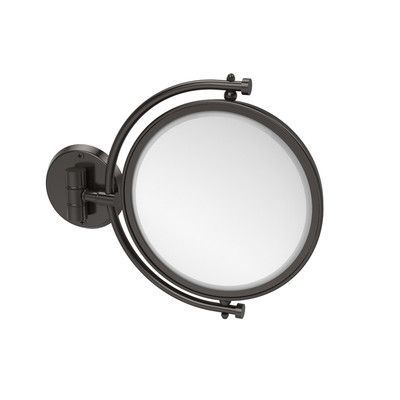 Allied Brass Universal Extendable Mirror Magnification: 4x, Finish: Oil Rubbed Bronze