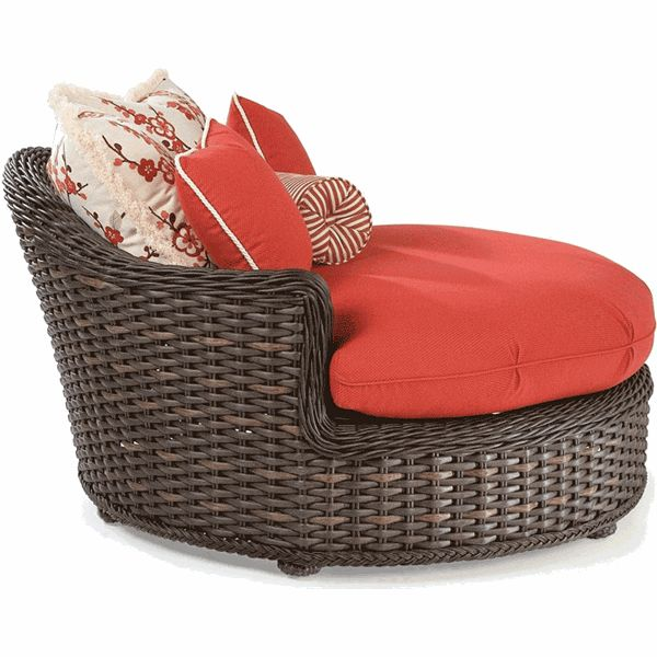 round wicker chaise custom indoor furniture accessories replacement cushions services chair pinterest replacement cushions