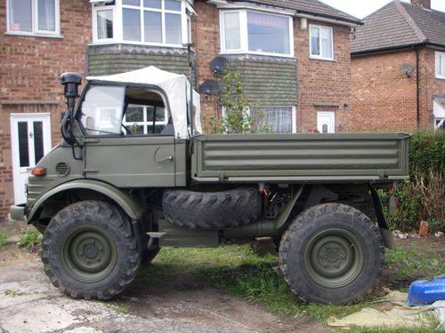 Ex-military / ex-MOD / MERCEDES BENZ UNIMOG U900 406 / agricultural vehicle | eBay