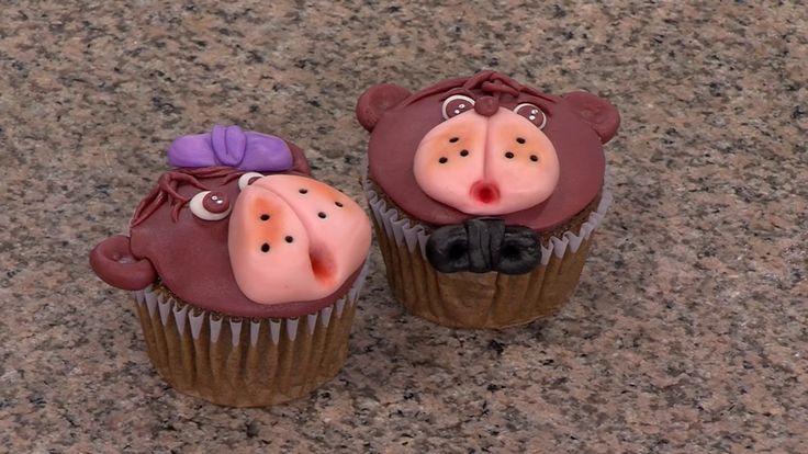 Cómo Decorar Cupcakes con Ositos - Hogar Tv  por Juan Gonzalo Angel