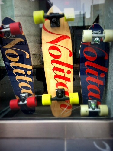 Skateboards available at The Nolitan Hotel