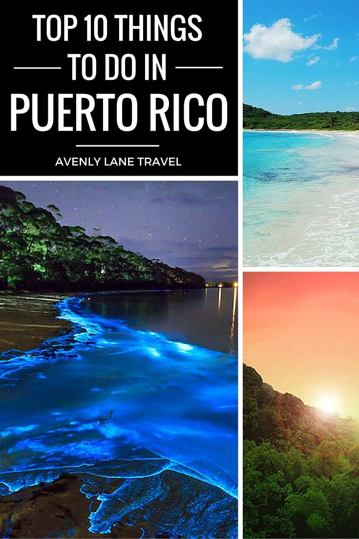 Puerto Rico is one of the easiest places to get to from the United States as well as one of the most beautiful! Click through to see our top 10 things to do in Puerto Rico!