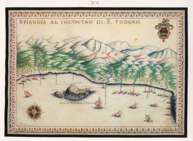 Η παραλία του Πλατανιά Χανίων με τις νησίδες Θοδωρού ή Άγιοι Θεόδωροι, όπου βρισκόταν βενετικό οχυρό. ..