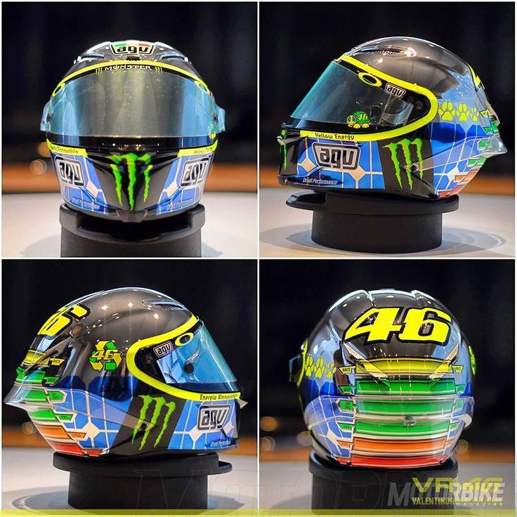 Valentino Rossi casco Mugello AGV 13