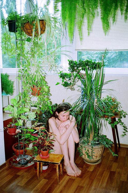 me and my plants