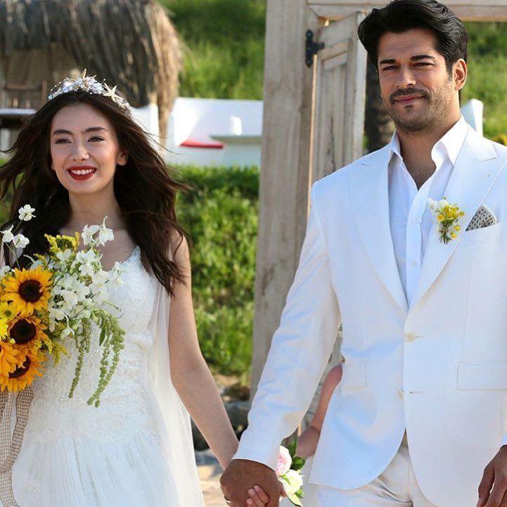 Neslihanatagul Burakozcivit Karasevda Wedding Couple Poses Photography Romance Wedding Dress Wedding Dresses