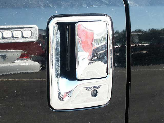 F250 1999 2015 Ford Superduty 4 Pieces Door Handle Cover Abs Plastic With Chrome Overlay Dh39321 Ford Super Duty Door Handles Chrome