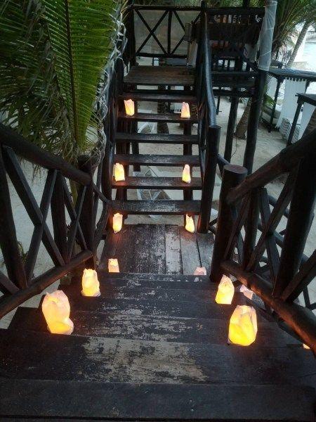 Candle Light dinner at El Dorado Seaside Resort