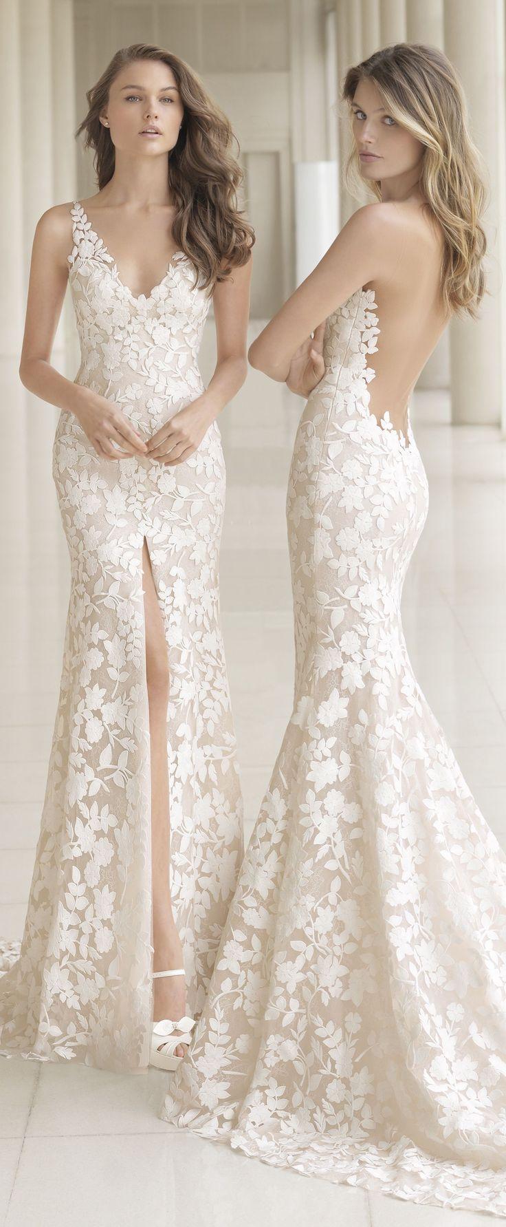 Rosa Aclara Brautkleider # Brautkleider # Brautkleider #rosaclara #rosaclarab ...