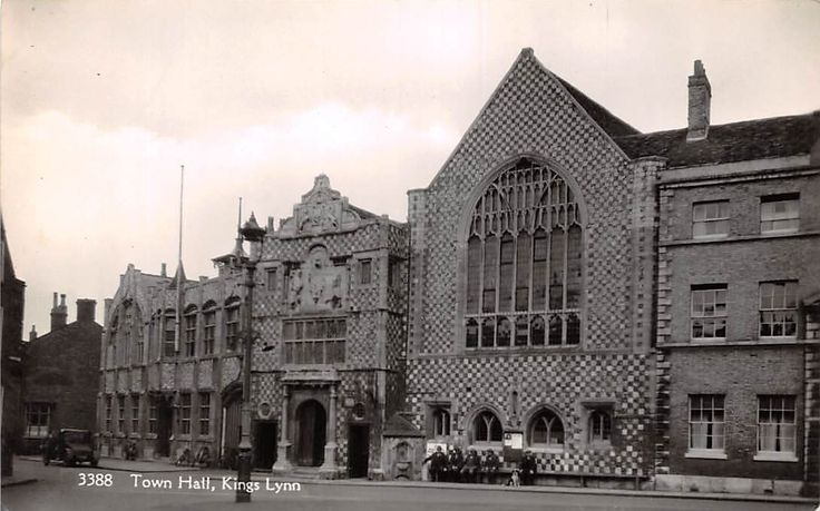 Kings Lynn Town Hall Vintage Car Auto Rathaus | eBay