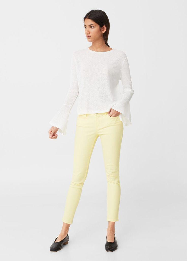 Smala paty jeans -  Damer | MANGO Sverige