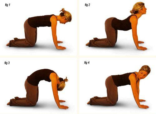Упражнения за болки в гърба - вкъщи и без уреди