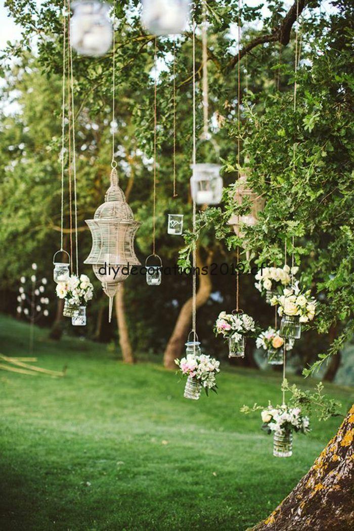 Idees De Decoration Lanternes De Fete De Jardin Suspendus