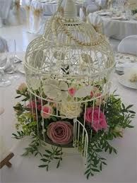 birdcage centrepieces weddings - Google Search
