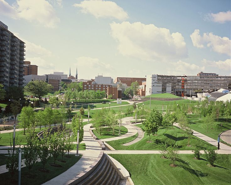 Building Upon The Master Plan By Hargreaves Associates For