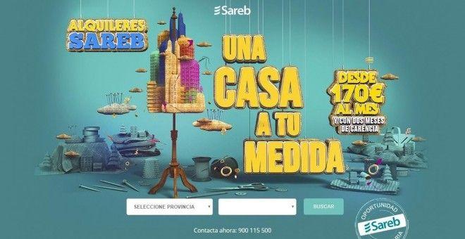 El banco malo pone en alquiler 1.100 viviendas en 20 provincias españolas