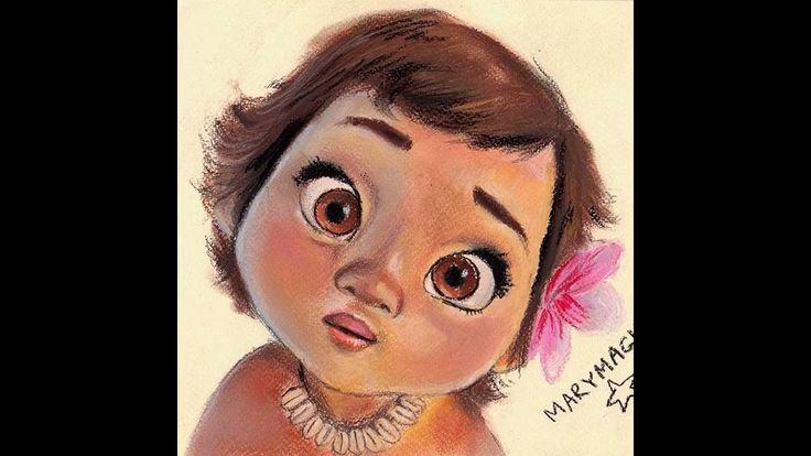 MOANA  Drawing Moana     marymagic