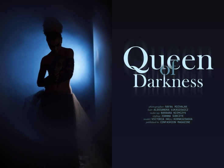 "Rafał Michalak ""Queen of darkness""  http://www.confashionmag.pl/webitorial/queen-of-darkness.html"