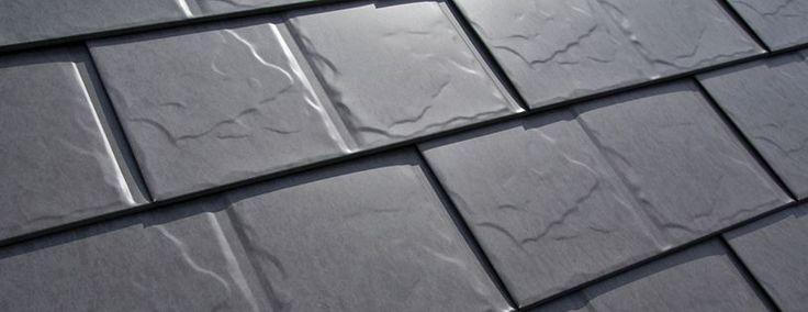 Slate Look Metal Roof shingles. www.interlockroofing.com Canadian company!