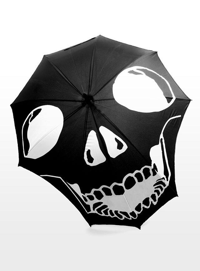 Black | 黒 | Kuro | Nero | Noir | Preto | Ebony | Sable | Onyx | Charcoal | Obsidian | Jet | Raven | Color | Texture | Pattern | Styling | Skull Umbrella