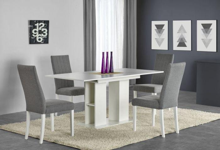 Drewniane krzesła DIEGO to przepiękne, klasyczne krzesła z drewna litego bukowego w kilku kolorach oraz tapicerowanym siedziskiem.