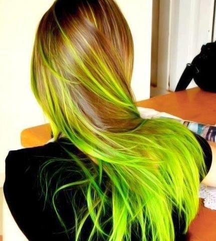 If you mixed together Manic Panic's Electric Banana and Electric Lizard, this is probably what you'd get. Sweet.