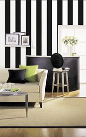 Black and White Wallpaper (source Vision Wallcoverings) / Wallpaper Australia / The Ivory Tower