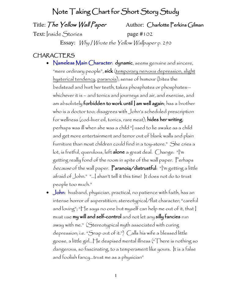 Gentil Yellow Wallpaper Poem Analysis Essays RW Stevens. Yellow Wallpaper Poem  Analysis Essays RW Stevens