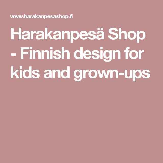 Harakanpesä Shop - Finnish design for kids and grown-ups